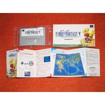 Final Fantasy 5 Em Português. Snes. P/ Colecionadores V
