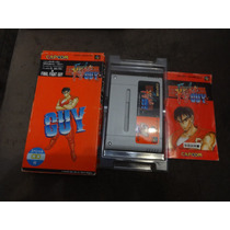 Final Fight Guy Original Japones E Completo Confira!!