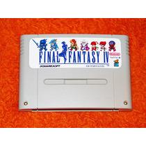 Final Fantasy 4 Em Português. Tipo Chrono Trigger. Snes