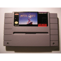 Super Nintendo Final Fantasy Mystic Quest Snes Excelente Est