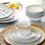 Aparelho De Jantar Porcelana/ Stella Summer 10243 – 84 Peças