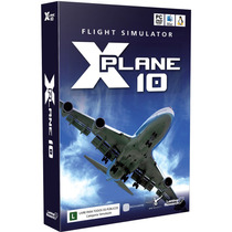Simulador De Voo X-plane 10 Original Manual Portugues Pc/mac