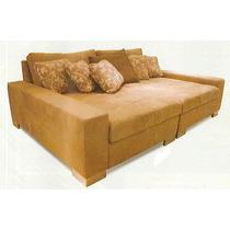 Sofa Recamier De Otima Qualidade Mt 220+170