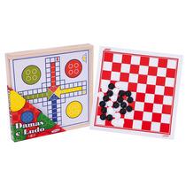 Jogos Infantis De Tabuleiro Damas E Ludo - Xalingo