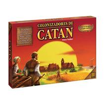 Colonizadores De Catan Grow - Jogo Novo Lacrado Em Pt-br