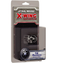 Tie Advanced - X-wing Star Wars Game - Miniatura Jogo Ffg