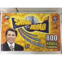 Jogo Silvio Santos Show Do Milhão