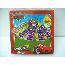 Brinquedo Antigo Disney/pixar Jogo Bingo Carros/cars 00/10