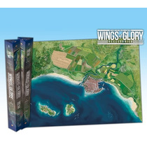 Wings Of Glory Coast Game Mat - War Jogo 1a. 2a. Guerra Ares