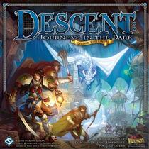 Descent 2nd Ed. - Jogo Tabuleiro Importado - Ffg - No Brasil