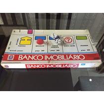 Jogo De Tabuleiro Banco Imobiliário Estrela Anos 70