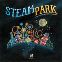 Steam Park - Jogo De Tabuleiro Importado Iello Cranio