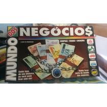 Jogo De Tabuleiro Mundo Dos Negocios.