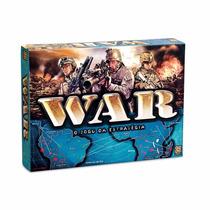 Jogo De Tabuleiro War O Clássico Da Estratégia - Grow