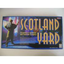 Antigo Jogo Scotland Yard Da Grow 100 Casos Completo Anos 90