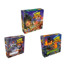 King Of Tokyo + Expansão Power Up! + Halloween - Português