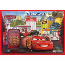 Super Banco Imobiliário Disney Mcqueen C Máquina Cartão Jogo
