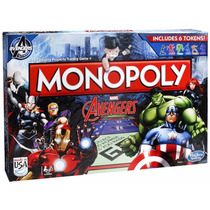 Jogo Monopoly Avengers - Hasbro Marvel B0323 Pronta Entrega