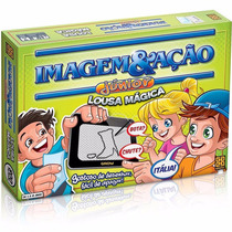 Jogo Imagem E Ação Júnior Com Lousa Mágica E Ampulheta Grow