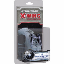 Star Wars X-wing Expansão Tie Interceptor - Em Português