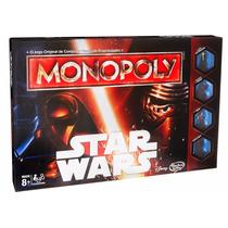 Jogo De Tabuleiro - Monopoly Star Wars 2015 - B0324 - Hasbro