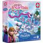 Novo Brinqued Jogo Tabuleiro Jardim Encantado Frozen Estrela
