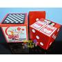Jogos Clássicos Dado 6 In 1 Game Cube Carta Dominó Xadrez