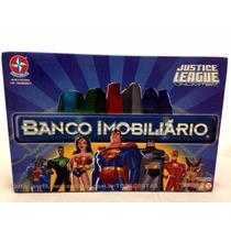 Jogo Banco Imobiliário Liga Justiça Heróis Original Estrela