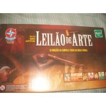 Jogo Leilão De Arte Estrela ,completo,impecavel.c -manual