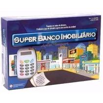 Banco Imobiliário + Máquina De Cartão - Importado - Lindo
