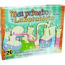 Meu Primeiro Laboratório De Química Algazarra Brinquedos