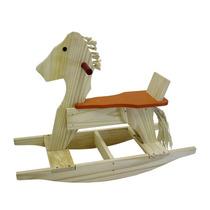 Brinquedo Cavalo, Cavalinho De Balanço Em Madeira P/crianças