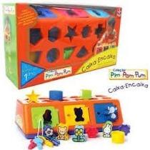 Brinquedo Para Bebê Caixa Encaixa - Estrela - Pedagógico