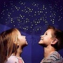 Adesivos Luminosos De Teto Quarto 100 Estrelas Lua Cometa