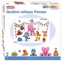 Quebra Cabeça Pocoyo Em Madeira Nina Brinquedos Educativos