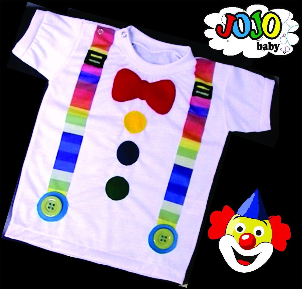 a43127b139 Camisa Palhacinho Pai E Filho Elo7
