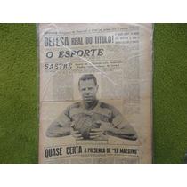 Jornal O Esporte 1576 De 1943 Domingos Da Guia + Flamengo