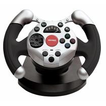 Volante Pc Usb Dual Shock Racing Maxprint 6217-8