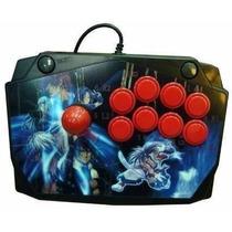 Controle Fliperama Arcade Para Ps1 Ps2 Pc - Novo
