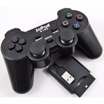 Controle Pc Ps2 Ps3 Usb Wireless Dual Shock Sem Fio Gamer