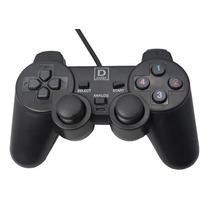 Controle Manete Playstation 2 3 Usb Para Pc Com Analógico