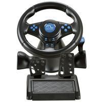 Multilaser Volante Racer 3 Em 1 Para Ps2, Ps3 E Pc Js073