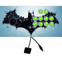 Controle Arcade Tipo Fliperama Pc/ps2 Sem Analógico