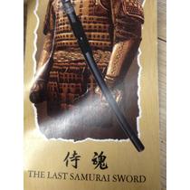Ultimo Samurai - Espada Katana Com Suporte E Bainha