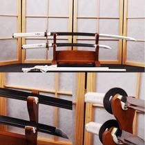 Kit Espada Samurai Ninja Katana Wakizashi Afiada Aço 1060