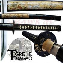Espada Iaito Treino Aço1060 2 Mekugi + Capa E Kit Limpeza