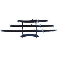 Kit 3 Katana Espadas Samurai (daito, Wakisashi, Tanto)