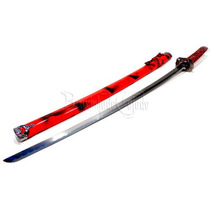 Espada Katana Vermelha 100 Mod 2932