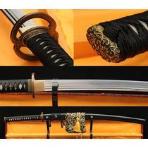 Espada Katana Samurai Ninja Aço 1060 Funcional Top Qualidade