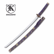Espada Samurai Katana Sapphire Warrior C/ Bainha